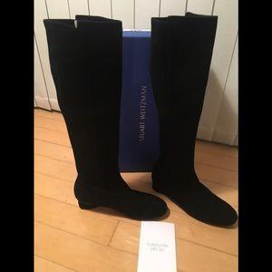 New in box Stuart Weitzman Boot Eloise 7.5 Black